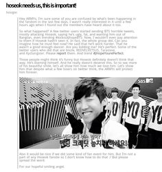 *please read and share*  How awful that people would do this!  Always support ALL artists ♡ #JHopeYourePerfect