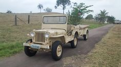 1951 Willys CJ-3A/M38 Jeep - Photo submitted by Paulo Wilson.