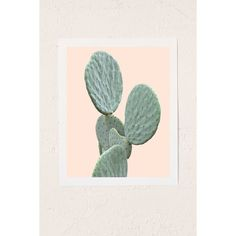 Wilder California Mountain Cactus Art Print ($19) ❤ liked on Polyvore featuring home, home decor, wall art, no frame, cactus wall art and mountain home decor