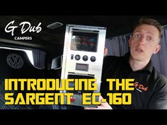 VW T5 Camper Project - Introducing the Sargent EC-160 power control unit - YouTube