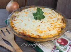 ArtandtheKitchen: Baked Spaghetti Pie