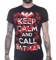 Playera Keep Calm #Joker  $ 160.00 $ 200.00