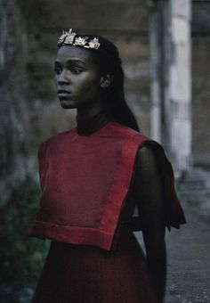 Leila Nda by Fabrizio Ferre Vogue Italia September 2015