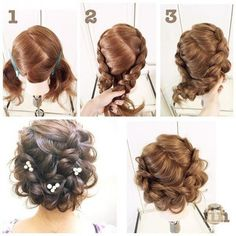 Photography lesson hairstyles
