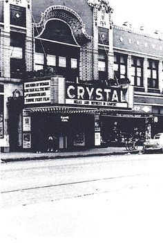 Crystal Theater 1951. demolished. 2701 W. North Avenue, Chicago