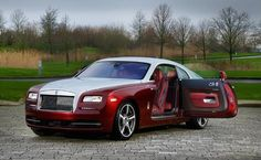 9 Best Rolls Royce Wraith 30th Anniversary Syrah Red Images In