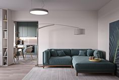 Have grandiose plans for your interior, but not the room to house them? Never fear – interior inspiration for your small space is here. These two apartment de
