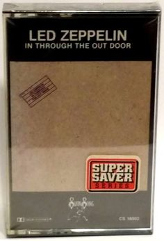 LED ZEPPELIN: In Through the Out Door CASSETTE TAPE (1979) NEW/FACTORY SEALED #Rock