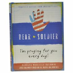 This wonderful hardcover book of children's letters to soldiers is a touching tribute to the men and women who protect our country every day. Flag Country, Navy Military, Real Hero, American Pride, Brave, Thankful, Letters, Reading, Soldiers