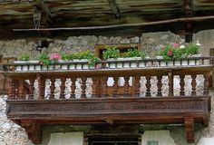 balkon bauernhaus - Google-Suche