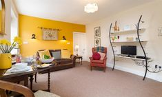 Welcome to Dorothy's Place in Bowness. A luxurious gold awarded apartment sleeping Parking for one car, hammock, BBQ, picnic bench & gardens. Windermere, Luxury Apartments, Lakes, Corner Desk, Cottage, Furniture, Home Decor, Corner Table, Decoration Home