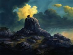 Breathtaking visual development from The Lion King