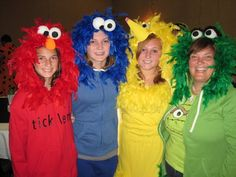 elmo family costumes Check out your local Goodwill for all your Halloween shopping: www.goodwillvalleys.com/shop