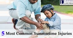 5 Most Common Summertime #Injuries