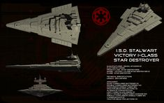 Victory-I Star Destroyer ortho - ISD Stalwart by unusualsuspex.deviantart.com on @deviantART