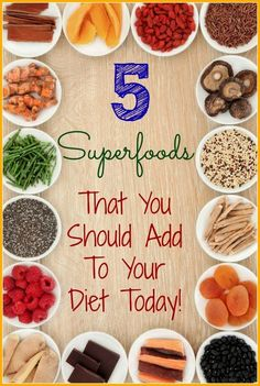 5 Super Foods to Eat #Healthy #SuperFoods - iSaveA2Z.com