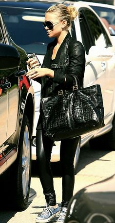 4631af0503d7 all black everything Mary Kate Olsen