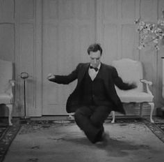 Buster Keaton's voice — Buster Keaton in Grand Slam Opera Silent Comedy, Silent Film, Classic Comedies, Classic Films, Buster Keaton, Silent Love, Actors Male, Laurel And Hardy, Zombies