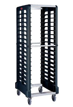 Max System black Pan Rack: Shelf black designed specifically for Gastronorm
