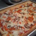 Beer pizza- this is an amazing recipe, one of the best pizzas I have had! Making it again tonight :)