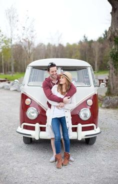 This would be a cute pose to do with Jon in front of his old 40's truck