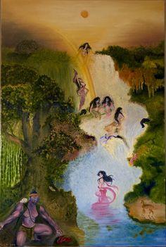 Jaka Tarub and the Seven Fairies