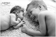 Adorable Siblings – Bergen County Newborn Photography, Bergen County Newborn Photographer