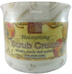 Skin is not a lifeless tissue but a living organ, protected by hydrolipidic film. As it undergoes its own process of naturla renewal dead cells and other impurities accumulate and your skin's layer. Soft touch scrub cream quickly enclogs pores removes black heads and complexion dullnuess dead cells and exfoliates your skin. Its specially designed, suitable sized particles give you the smoothest skin you dream of.