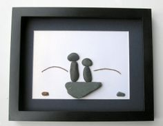 Personalized Fishing Gifts - Fisherman Themed Christmas Gift- One of a Kind Fishing Art - Stone Fishermen Gift - Pebble Art on Etsy, $70.00 CAD