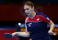 Day 1:  Table Tennis - Women's Singles - Cornelia Molnar of Croatia