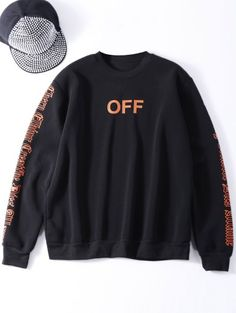 SHARE & Get it FREE | Oversized Velvet Sweatshirt With Letter Print - BlackFor Fashion Lovers only:80,000+ Items • New Arrivals Daily Join Zaful: Get YOUR $50 NOW!