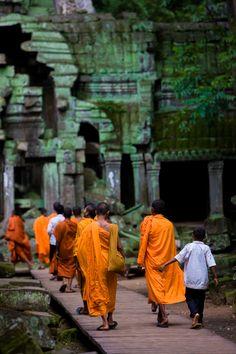 Monks in #Cambodia