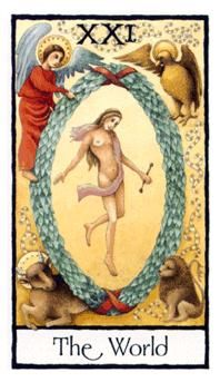 December 5 Tarot Card: The World (Old English deck) At this very moment, you are exactly where you are supposed to be
