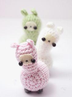 Cute Llama Amigurumi