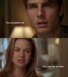 Jerry Maguire (1996)  Brilliant Cruise, and possibly the best one-line in film romance history.