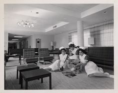 Historical Notes from OHSU: 1960s School of Nursing photos