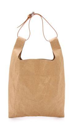 Maison Margiela Cellulose Tote Bag - Light Brown | SHOPBOP.COM saved by #ShoppingIS