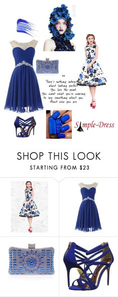"""""""simple-dress 17"""" by denisao ❤ liked on Polyvore featuring Ted Baker and Tom Ford"""