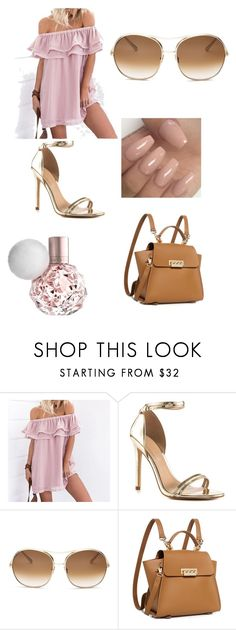 """Lets the summer days begin 💖"" by rosiiii ❤ liked on Polyvore featuring ALDO, Chloé and ZAC Zac Posen"