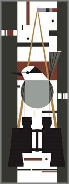 Charley Harper - Who's Watching Whom?  2007
