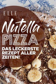 Nutella-Pizza: das leckerste Rezept aller Zeiten! Nutella-Liebhaber aufgepasst: Es gibt ein leckeresRezept mit der süßen Sünde, das ihr direkt nachmachen könnt – Nutella-Pizza!#nutellrezepte #nutella #nutellapizza #foodtrend #nachtisch #nutellanachtisch