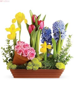Order & buy mother's day flowers online from Giftblooms. We offer exclusive mother's day flower delivery anywhere in Canada. Choose your flowers from our stunning mother's day flowers collection. Mothers Day Flower Delivery, Mothers Day Flowers, Spring Blooms, Spring Flowers, Spring Bulbs, Easter Flowers, Cut Flowers, Fresh Flowers, Dish Garden