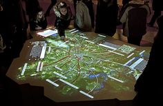 ART+COM : Berlin, Interactive map, Berlin 2009