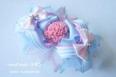☆maimaiリボン☆かわいい子供用ヘアアクセ、リボンボウ、ヘアボウ、DIY boutique  bow,Love  kids hair accessories,ribbon bow                                                                                                                                                                                 もっと見る