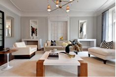 """Color, Best All-Around Neutral ~ Eisen calls Stonington Gray (in flat finish) her staging secret - brokers and buyers alike constantly ask about it. She describes it as the perfect remedy for white walls, and says, """"It has a unique ability to compliment every color scheme."""""""