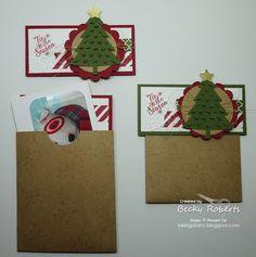 Inking Idaho: Peaceful Pines Gift Card Holders