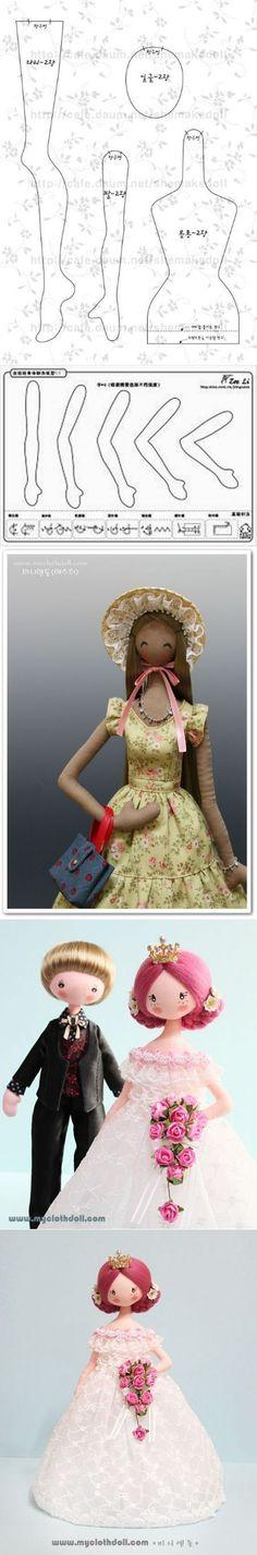 Très belles poupées coréennes.