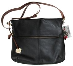 Rowallan of Scotland Black Leather Shoulder Bag Crossbody Purse Italy NWT  #RowallanofScotland #ShoulderCrossbody
