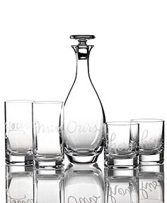 Kate Spade Barware, ''his'' ''hers'' ''yours'' ''mine'' and ''ours''