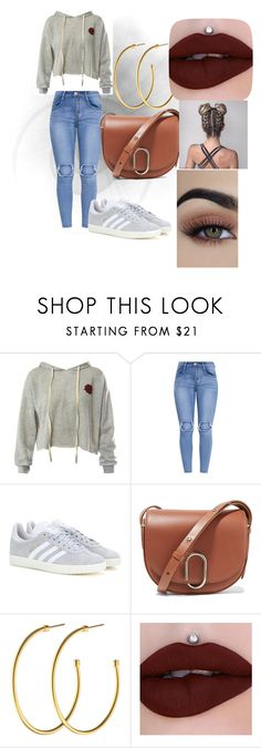"""""""she love"""" by ceidy-velasquez ❤ liked on Polyvore featuring Sans Souci, adidas, 3.1 Phillip Lim and Dyrberg/Kern"""
